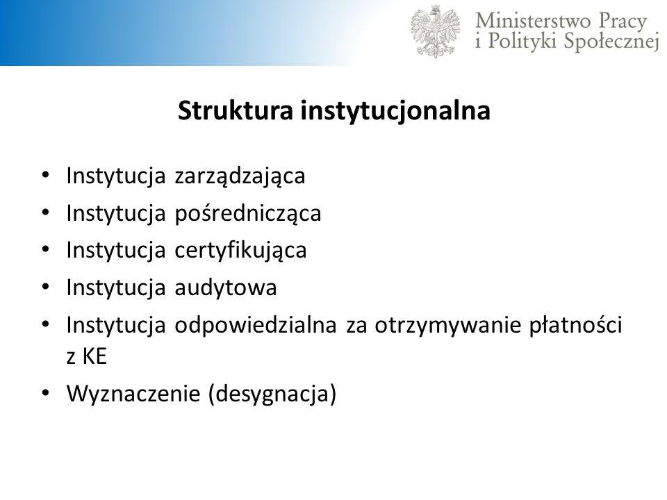 Struktura instytucjonalna
