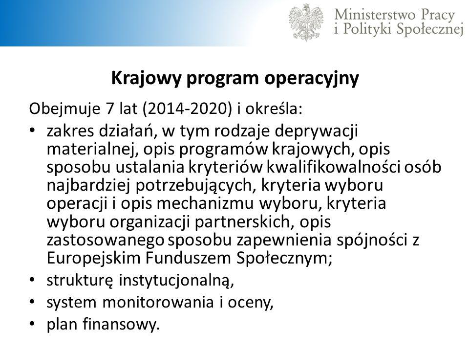 Krajowy program operacyjny