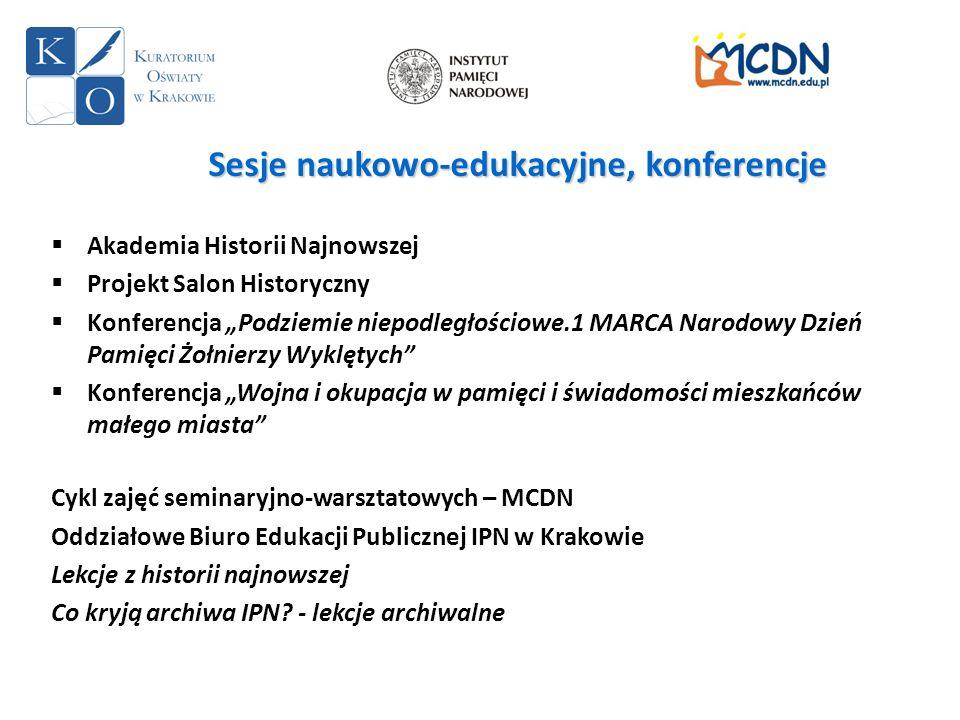 Sesje naukowo-edukacyjne, konferencje