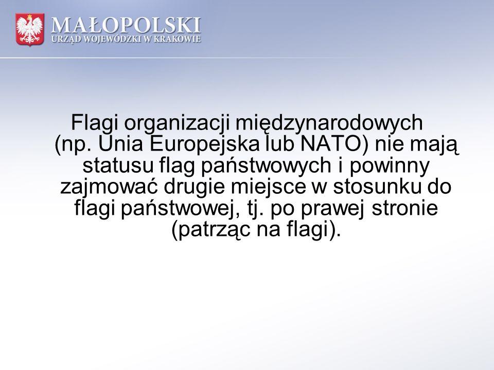 Flagi organizacji międzynarodowych (np
