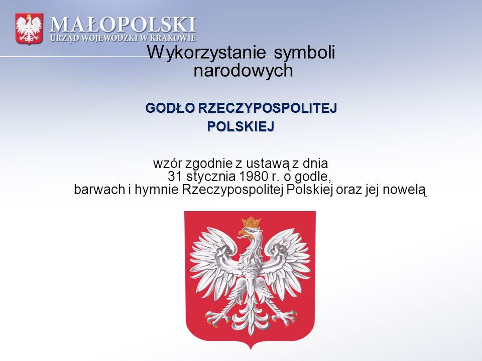 Wykorzystanie symboli narodowych