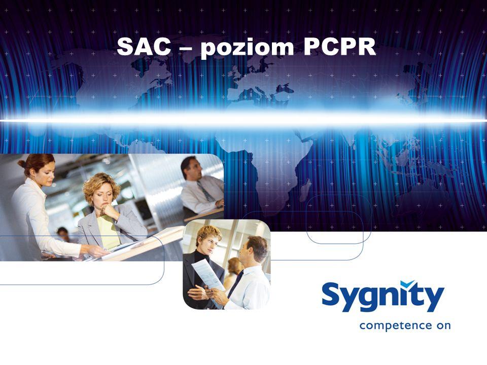 SAC – poziom PCPR