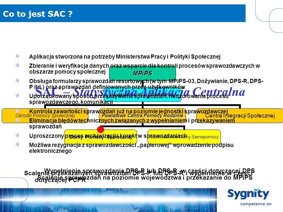 SAC – Statystyczna Aplikacja Centralna