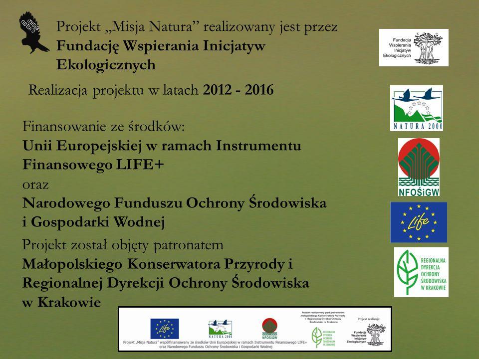 """Projekt """"Misja Natura realizowany jest przez Fundację Wspierania Inicjatyw Ekologicznych"""