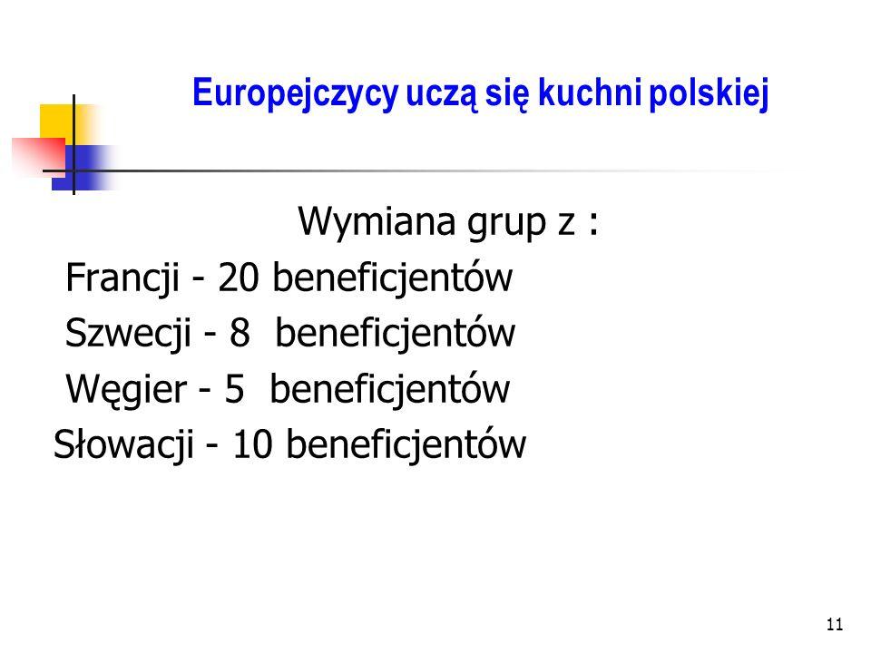 Europejczycy uczą się kuchni polskiej