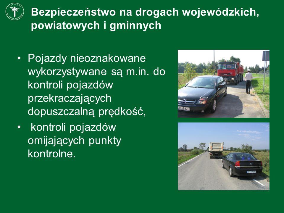 Bezpieczeństwo na drogach wojewódzkich, powiatowych i gminnych