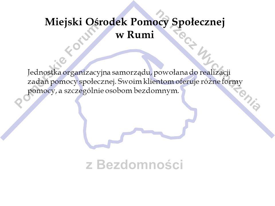 Miejski Ośrodek Pomocy Społecznej w Rumi