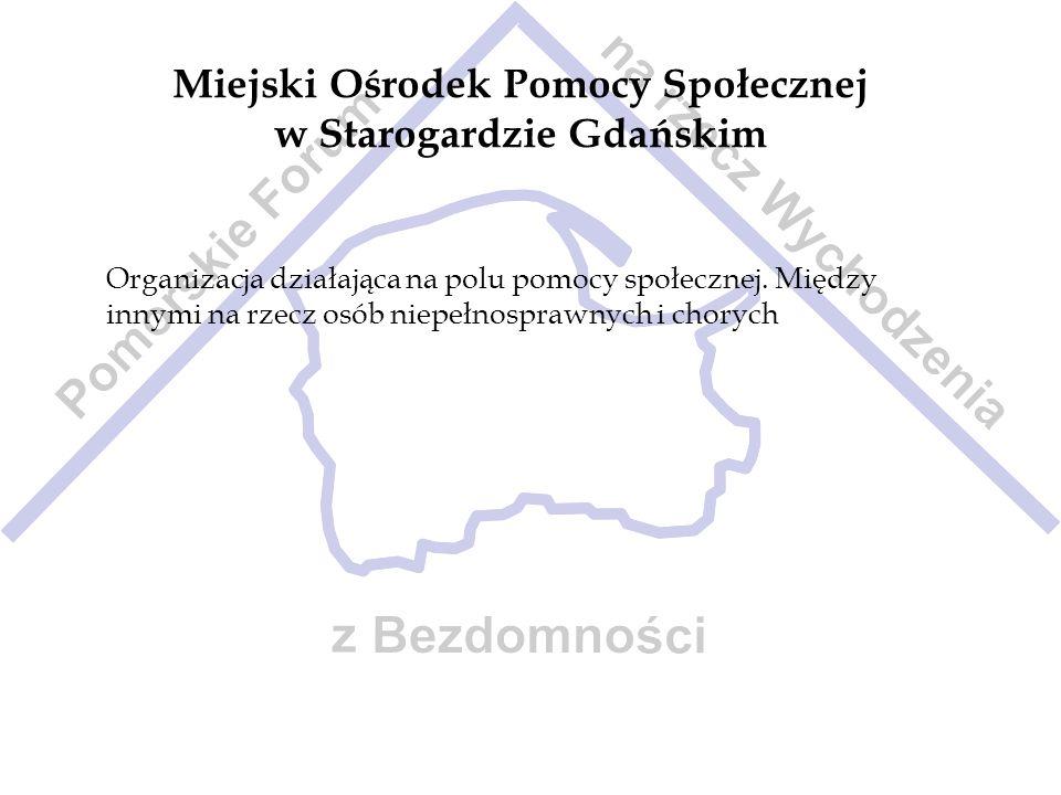 Miejski Ośrodek Pomocy Społecznej w Starogardzie Gdańskim