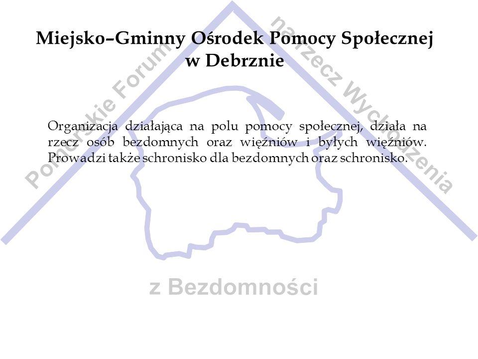 Miejsko–Gminny Ośrodek Pomocy Społecznej w Debrznie