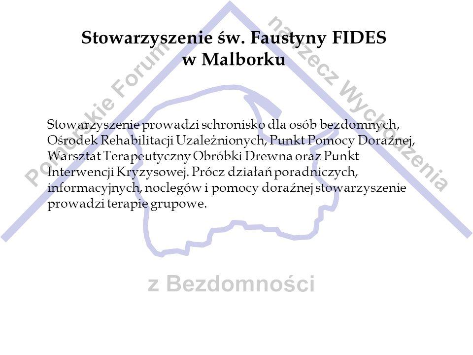 Stowarzyszenie św. Faustyny FIDES w Malborku