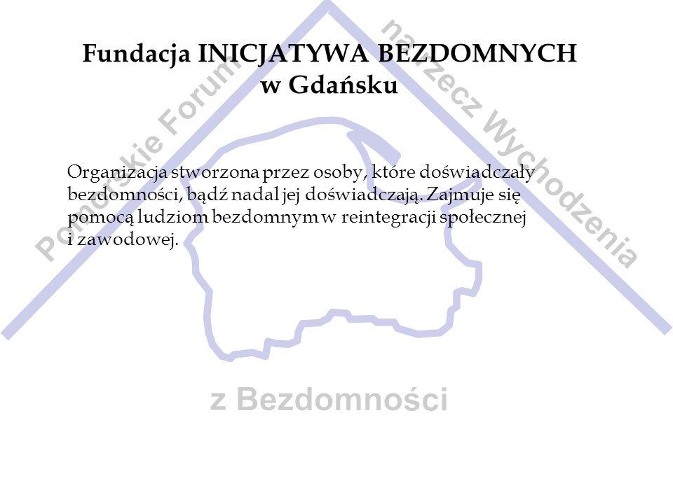 Fundacja INICJATYWA BEZDOMNYCH w Gdańsku