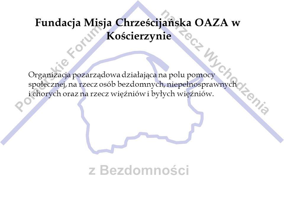 Fundacja Misja Chrześcijańska OAZA w