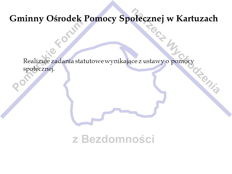 Gminny Ośrodek Pomocy Społecznej w Kartuzach