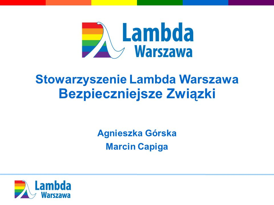 Stowarzyszenie Lambda Warszawa Bezpieczniejsze Związki