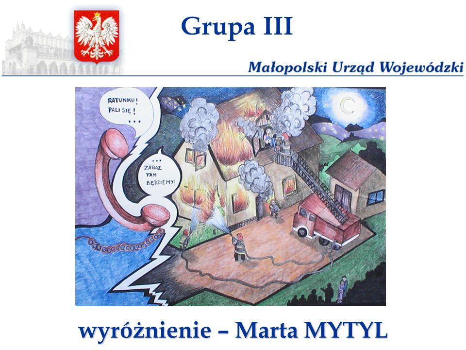 wyróżnienie – Marta MYTYL