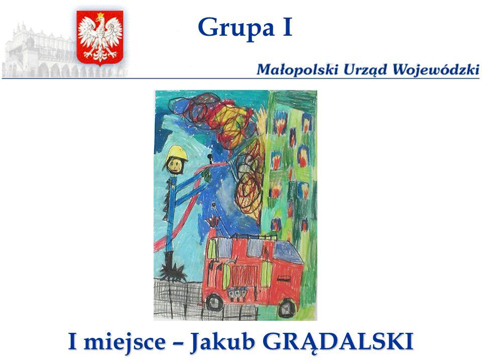 I miejsce – Jakub GRĄDALSKI