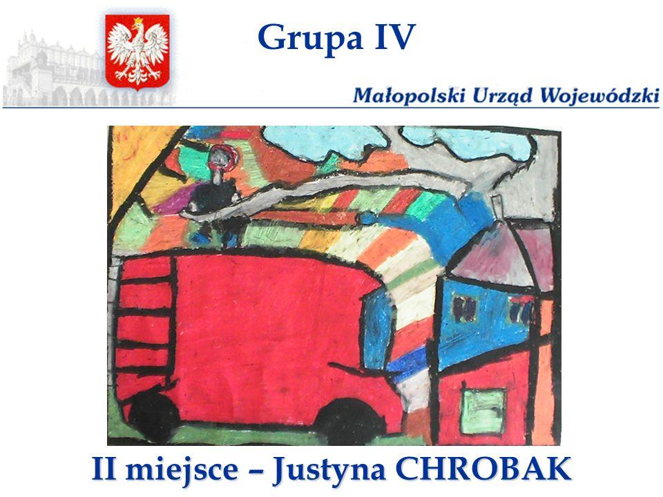 II miejsce – Justyna CHROBAK