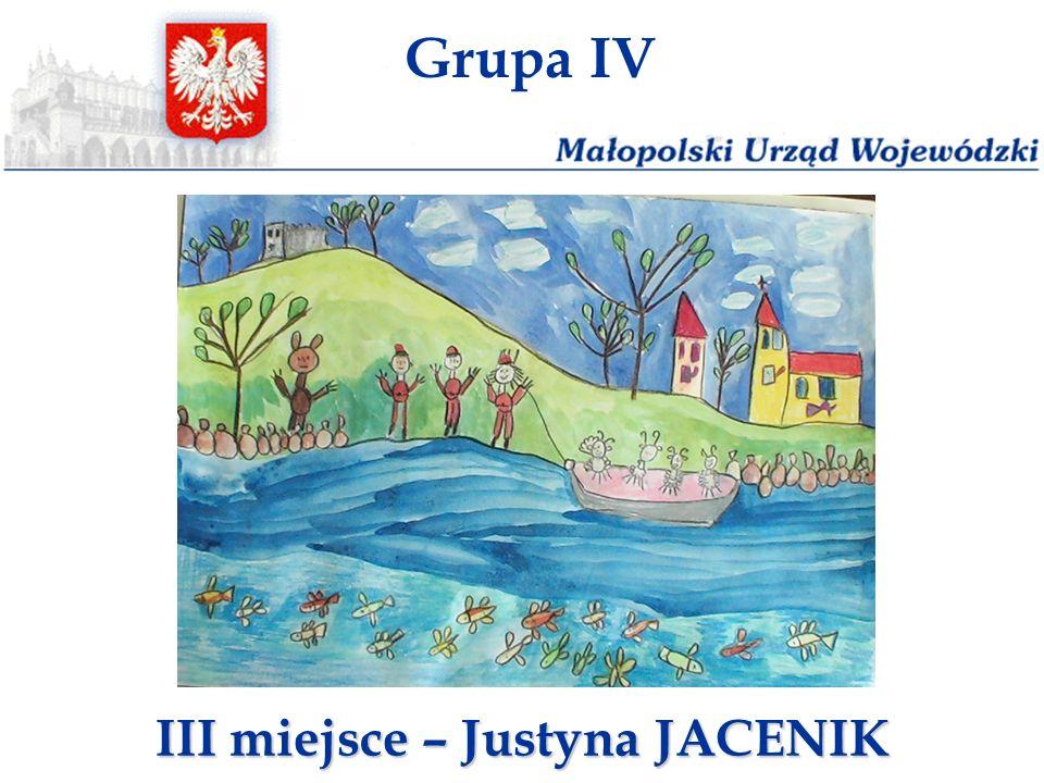 III miejsce – Justyna JACENIK