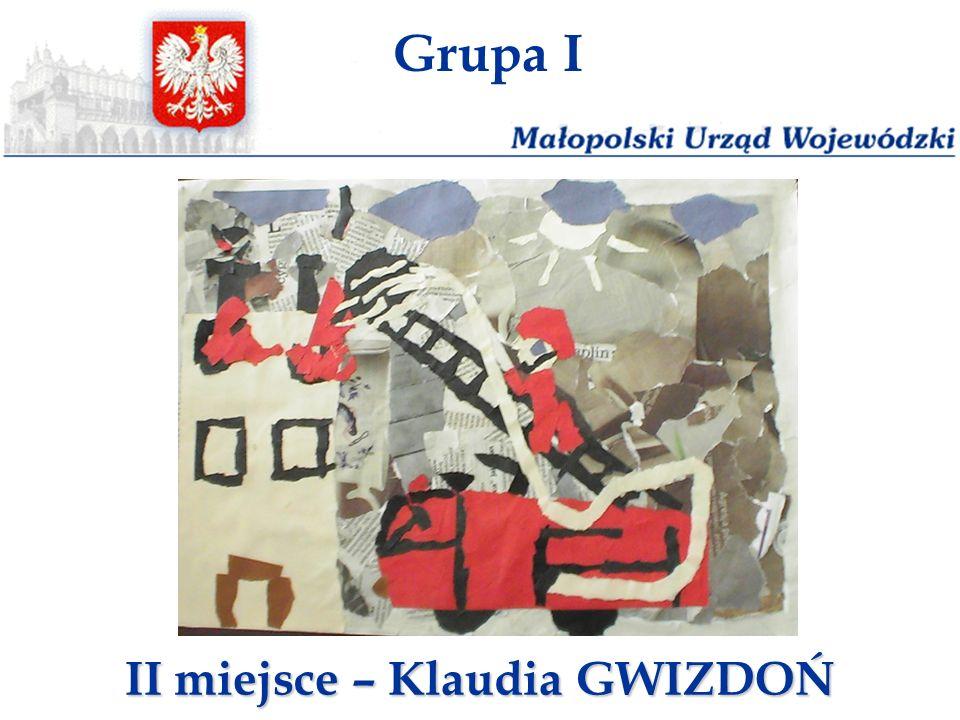 II miejsce – Klaudia GWIZDOŃ