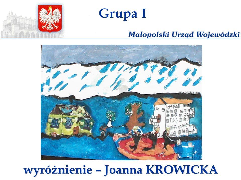 wyróżnienie – Joanna KROWICKA