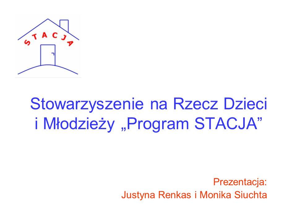 """Stowarzyszenie na Rzecz Dzieci i Młodzieży """"Program STACJA"""