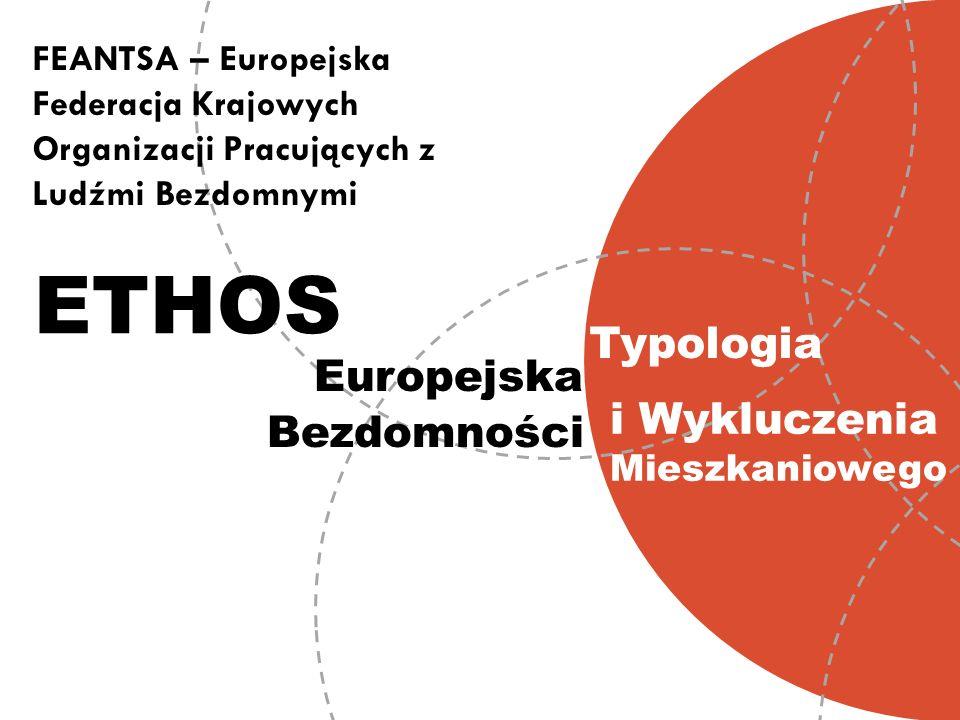 ETHOS Typologia Europejska i Wykluczenia Mieszkaniowego Bezdomności