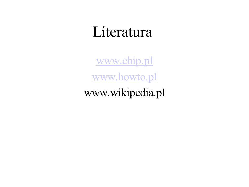www.chip.pl www.howto.pl www.wikipedia.pl