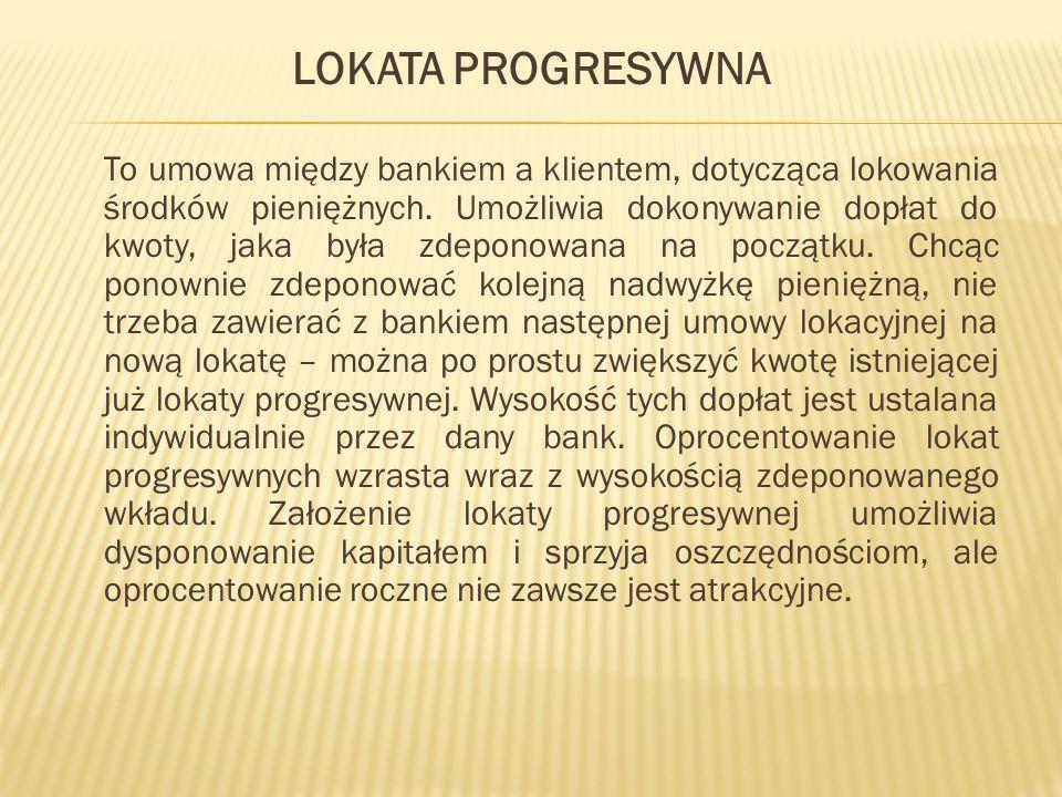 LOKATA PROGRESYWNA
