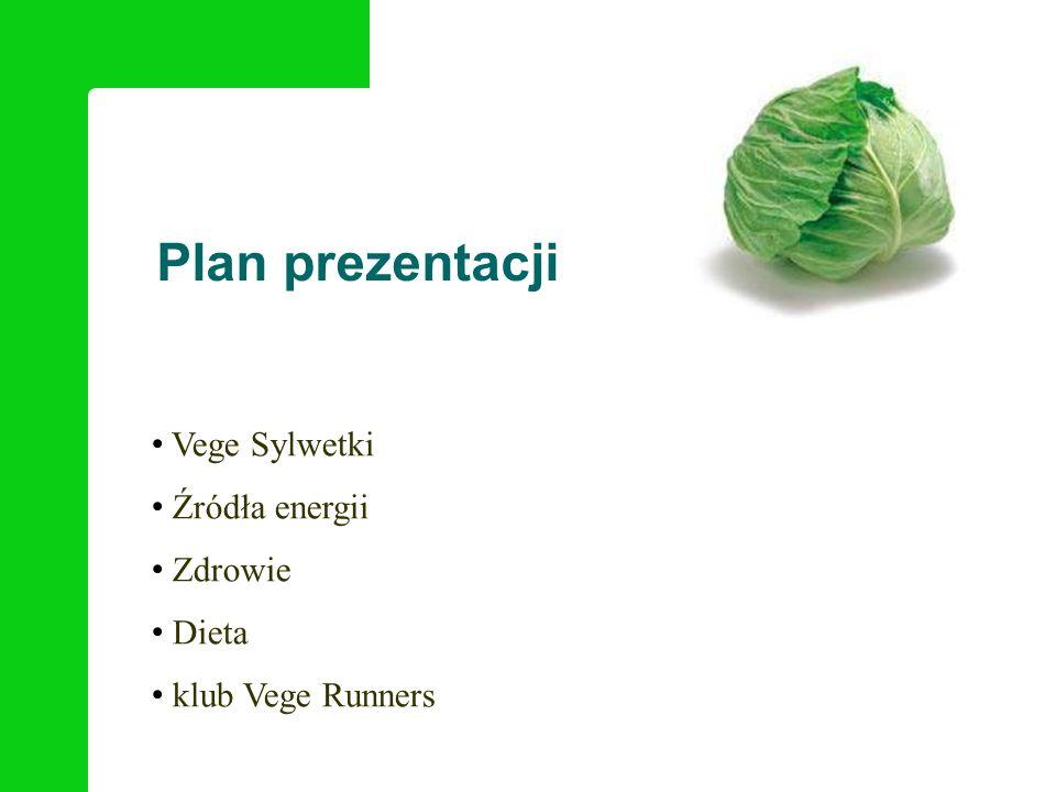 Plan prezentacji Vege Sylwetki Źródła energii Zdrowie Dieta