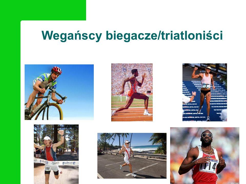 Wegańscy biegacze/triatloniści