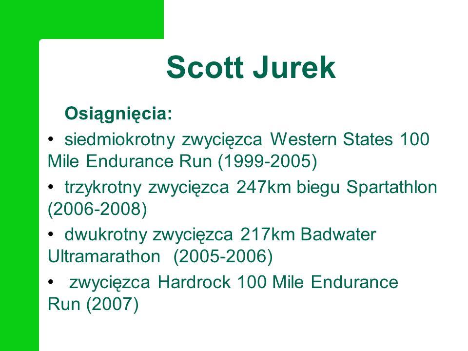 Scott Jurek Osiągnięcia: