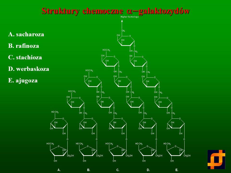 Struktury chemoczne a-galaktozydów