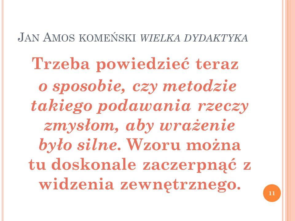 Jan Amos komeński wielka dydaktyka