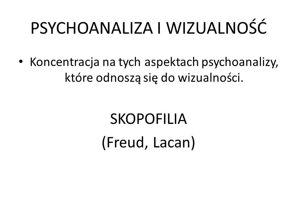 PSYCHOANALIZA I WIZUALNOŚĆ