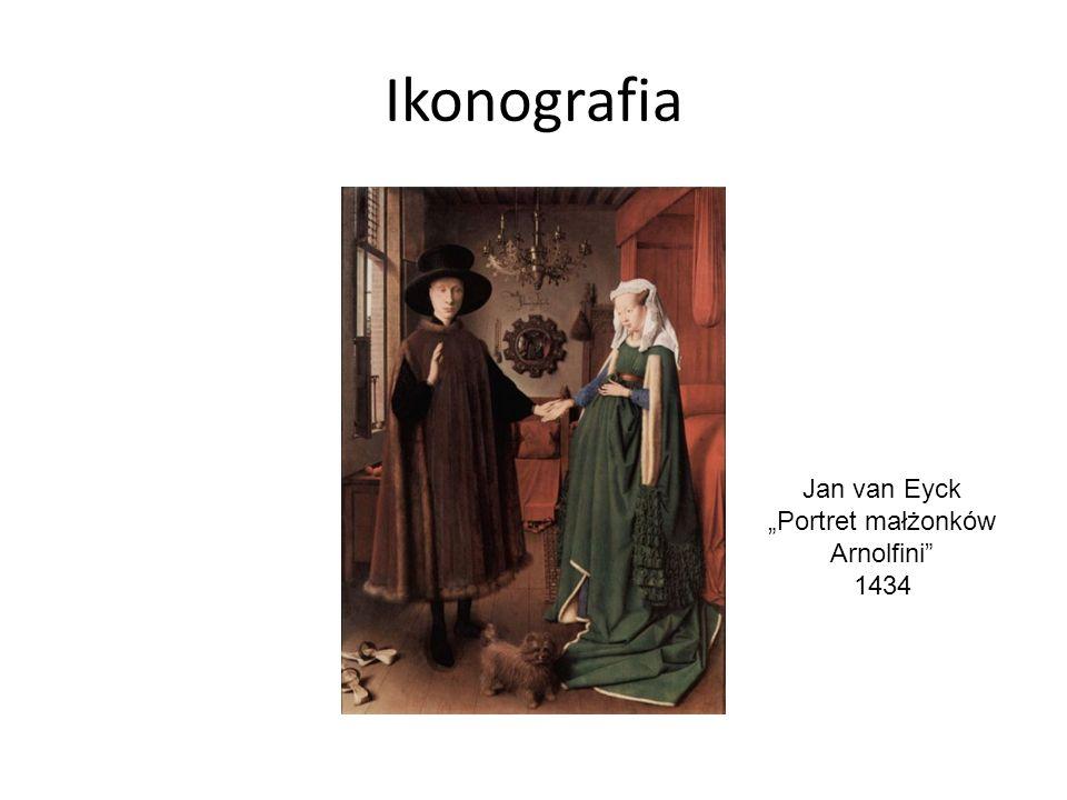 "Ikonografia Jan van Eyck ""Portret małżonków Arnolfini 1434"