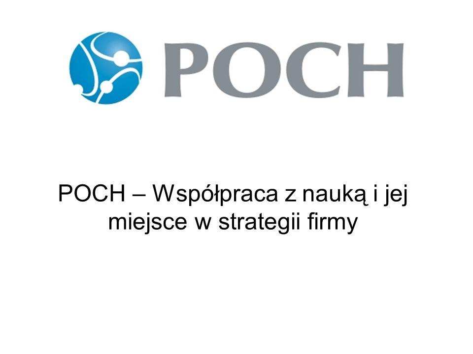 POCH – Współpraca z nauką i jej miejsce w strategii firmy
