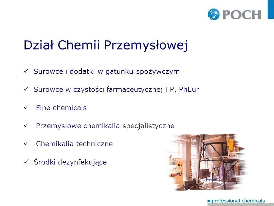 Dział Chemii Przemysłowej