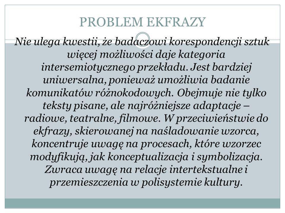 PROBLEM EKFRAZY