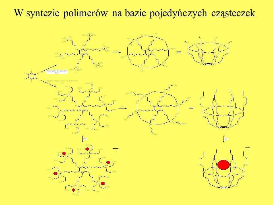 W syntezie polimerów na bazie pojedyńczych cząsteczek