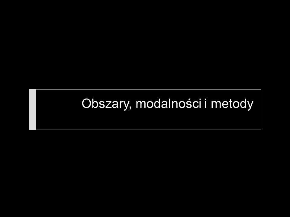 Obszary, modalności i metody