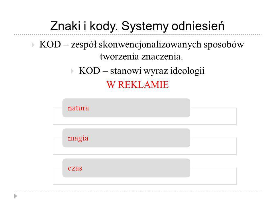 Znaki i kody. Systemy odniesień