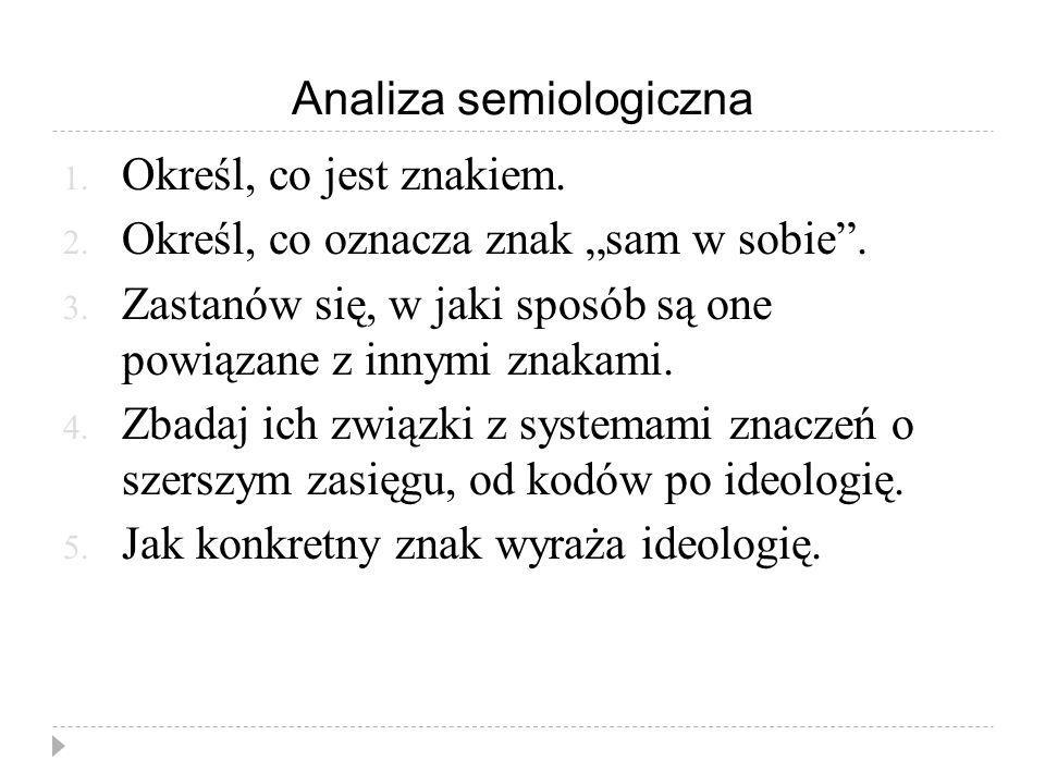 Analiza semiologiczna