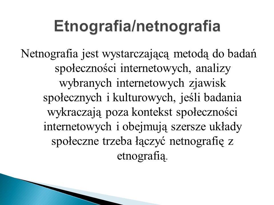 Etnografia/netnografia