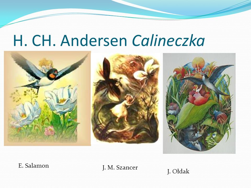 H. CH. Andersen Calineczka
