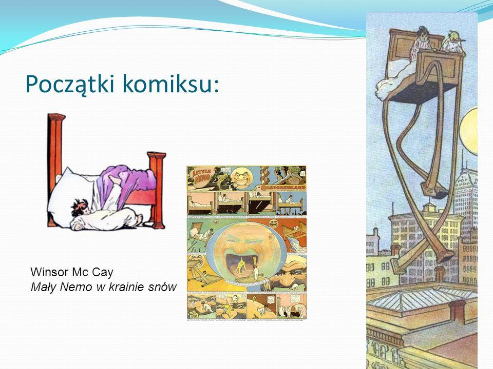 Początki komiksu: Winsor Mc Cay Mały Nemo w krainie snów