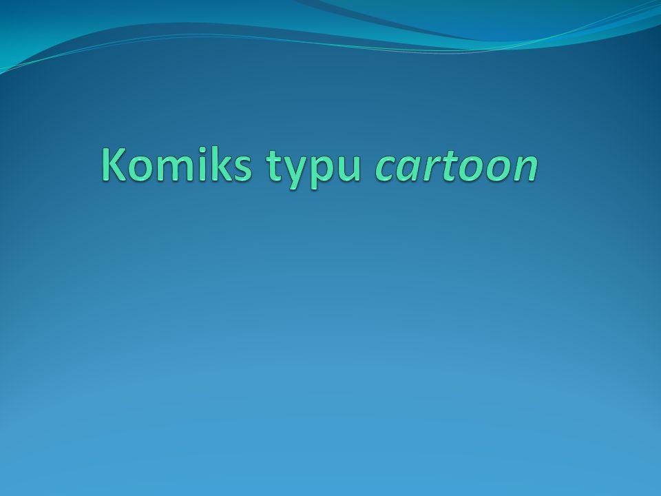 Komiks typu cartoon