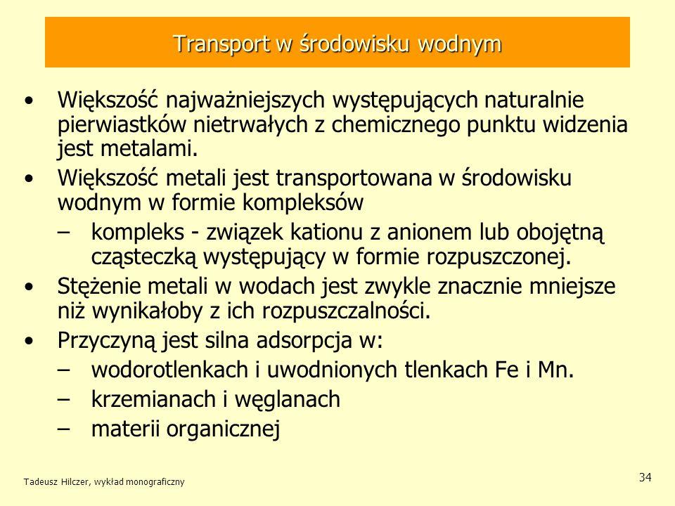 Transport w środowisku wodnym