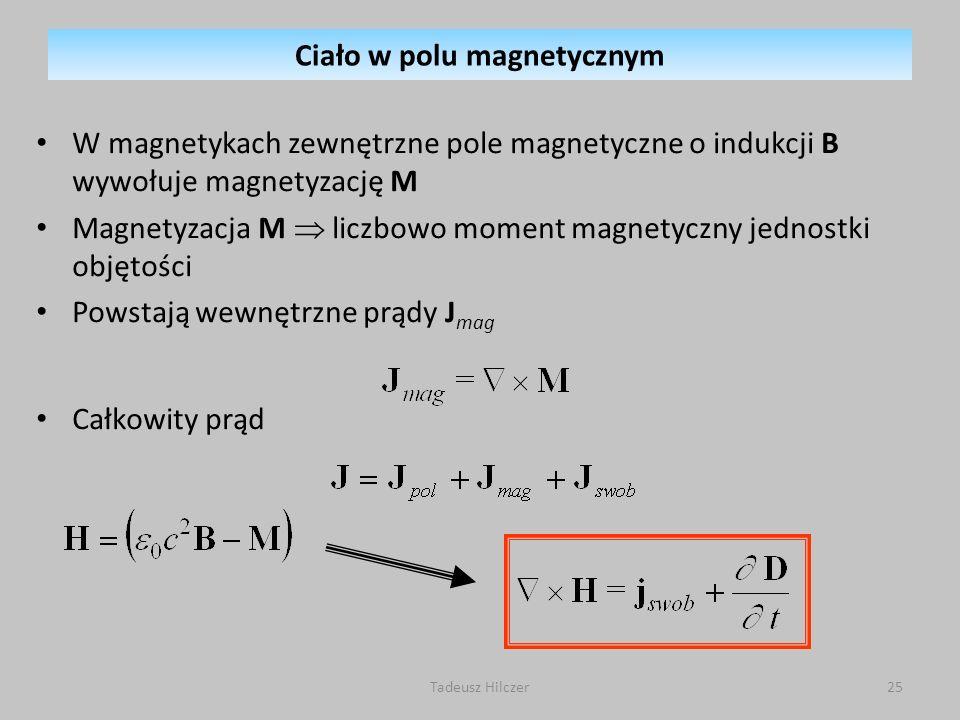 Ciało w polu magnetycznym