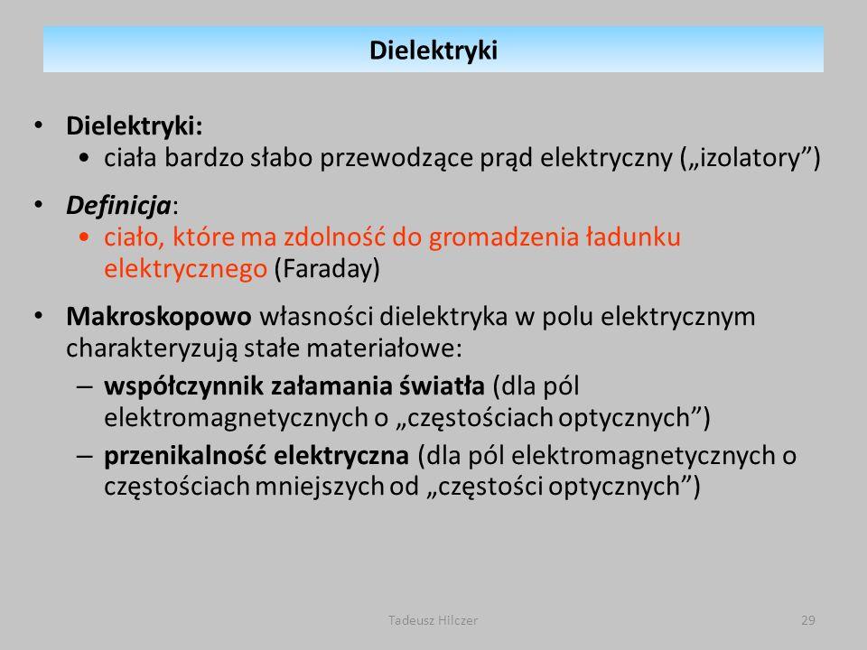 """ciała bardzo słabo przewodzące prąd elektryczny (""""izolatory )"""