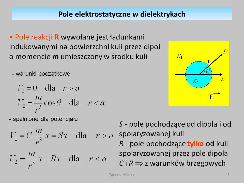Pole elektrostatyczne w dielektrykach